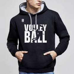 Sudadera Capucha Volleyball