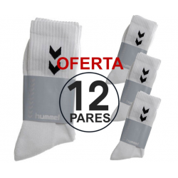 Pack 12 Pares Calcetines Hummel Training Line